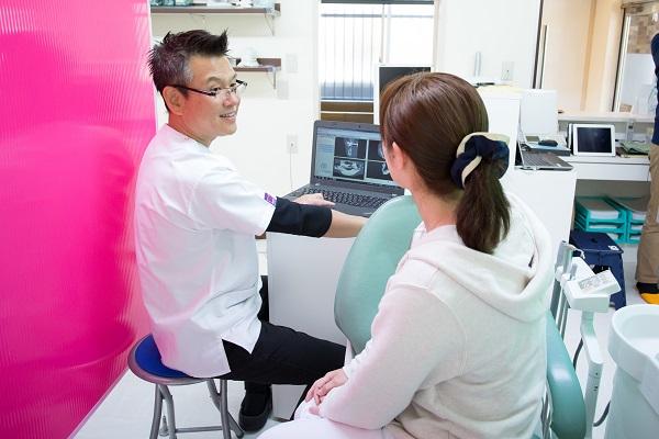 天野歯科医院では患者さんへのヒアリングを大切にしています