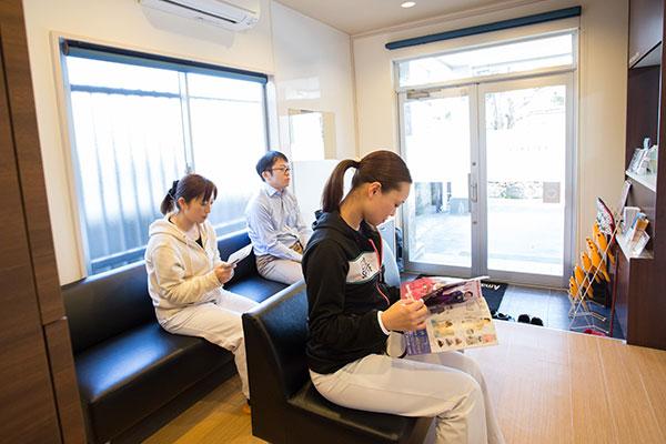 天野歯科医院の待合室
