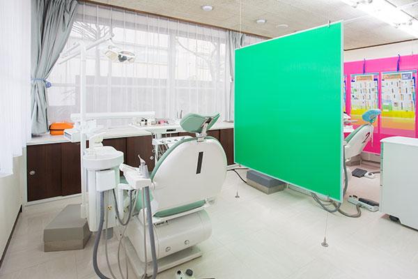天野歯科医院の診察室