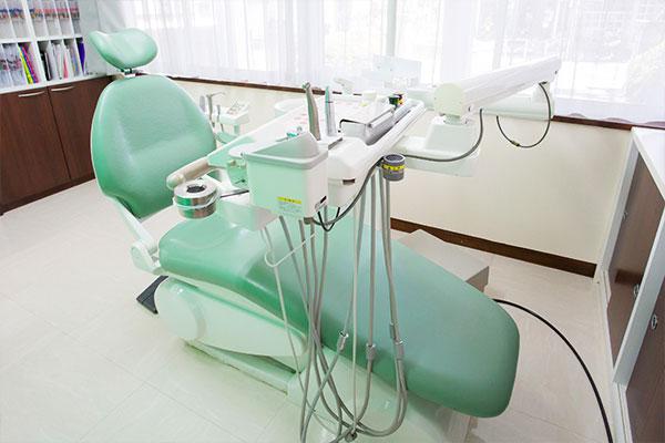 天野歯科医院の診察台